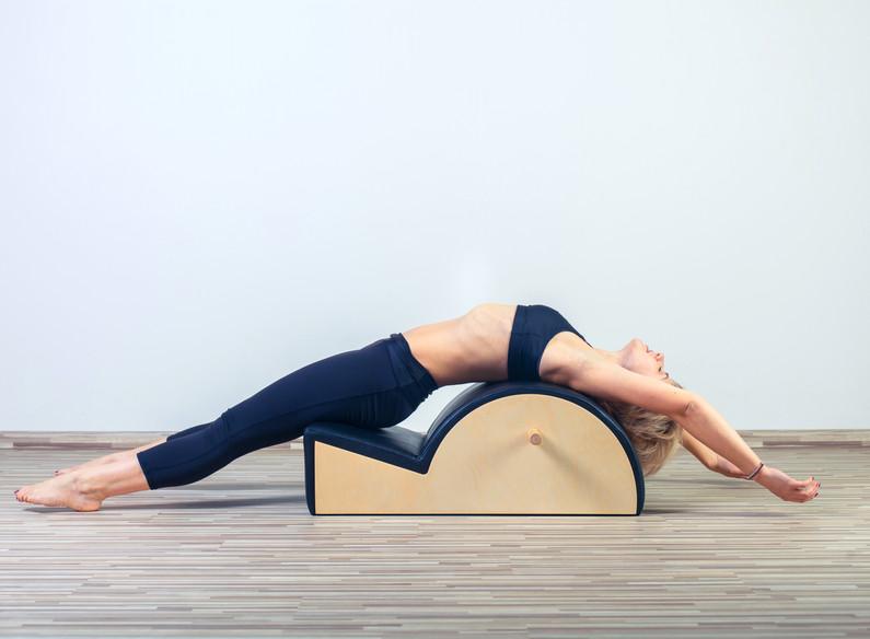 Pilates, fitness, sport, training and pe