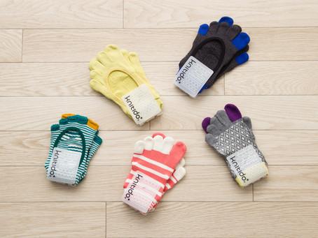 5本指ソックスのパイオニア!knitido+ (ニッティドプラス) のアーチサーポート靴下が鳥取県に降臨!
