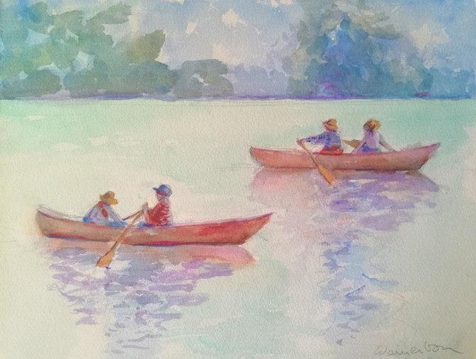 Twin Canoes