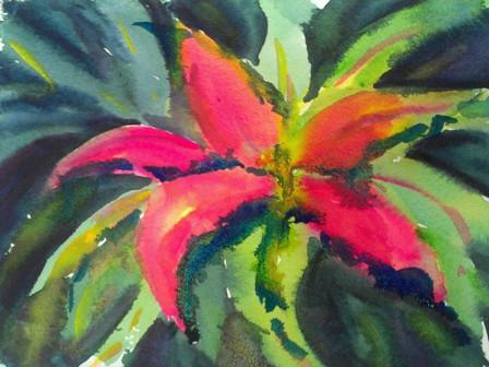 Teaching Flowers in Watercolor