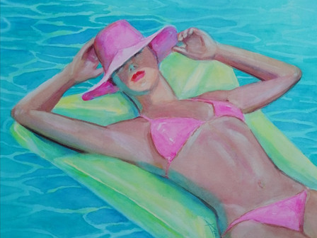 Kim exhibits new works at M.Maison in Vero Beach!