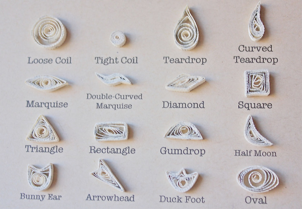 Quilling Shapes