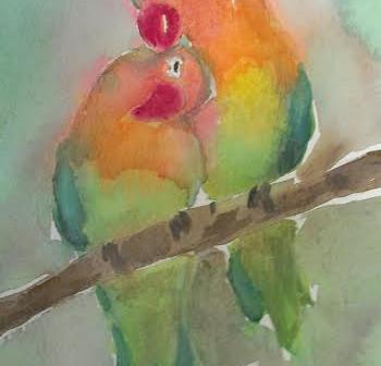 10 Minute Watercolors