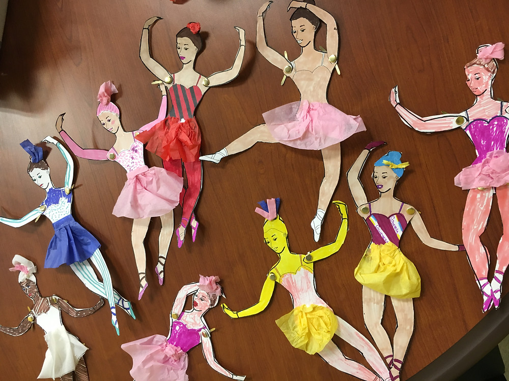 Degas Ballerina Art Project