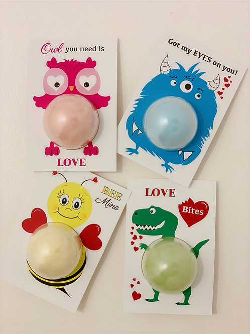 Valentine Bubble Tag Set
