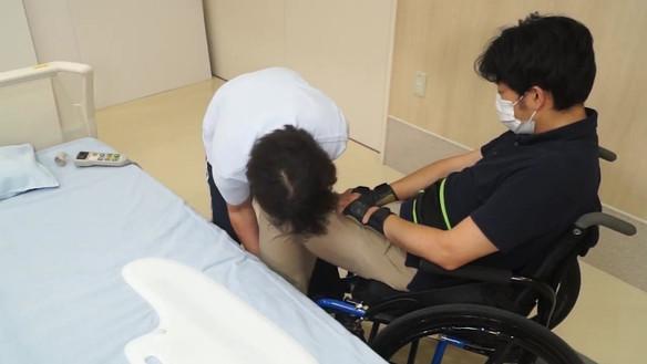 ④膝固定法