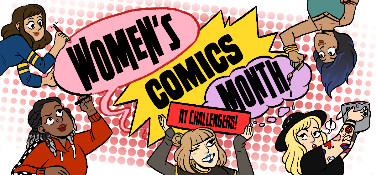 Womens Comics Month Web Banner