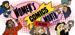 Womens Comics Month Web Banner