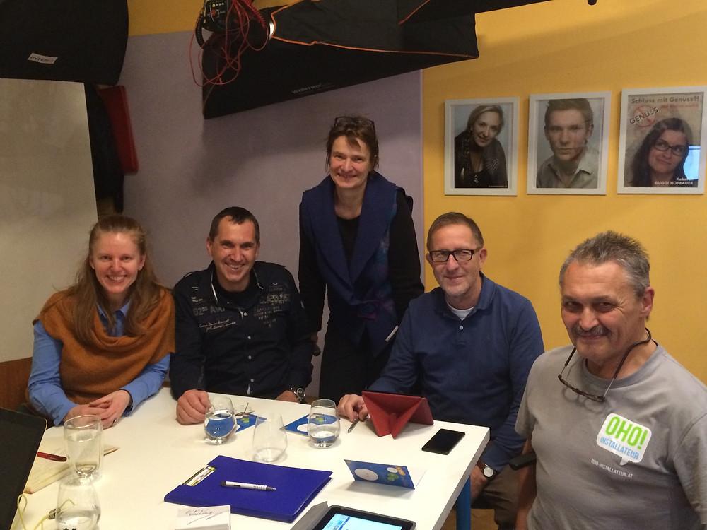 Unsere Gäste beim Facebook Workshop; Foto (c) barbara-huber.at
