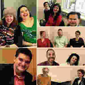 humorvolle TeilnehmerInnen