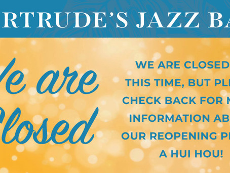 Exciting changes are coming to Gertrude's!