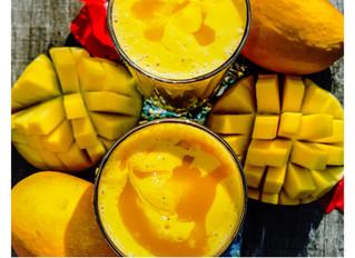 Mango Lassi - the one way ticket to glowing skin!