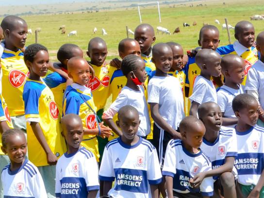 Kits for Africa - Sportpesa warms hearts in Maasai Mara