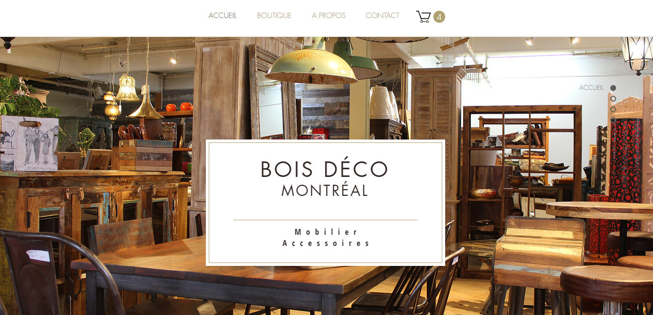 Meubles En Bois Bois Deco Montreal