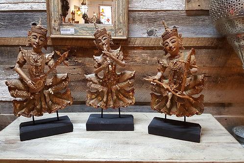 Musiciens sculptés