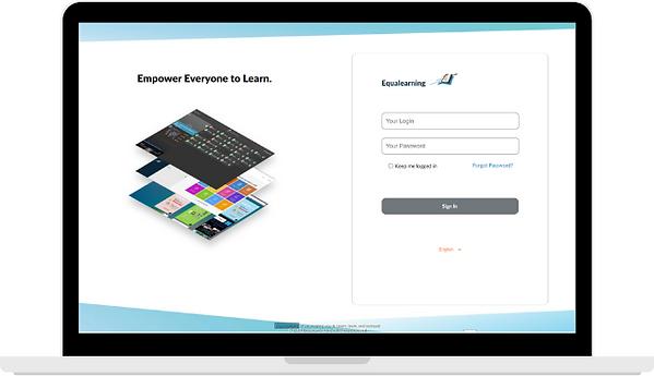 EQL Web Portal Login page update