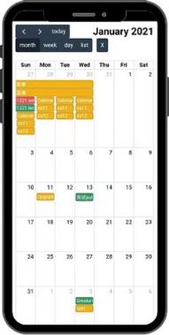 EQL APP calendar update