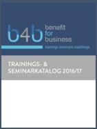 Aktueller Trainings- und Seminarkatalog zum Download