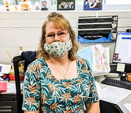 Linda Lyons  at General Films Hawaiian Shirt Friday