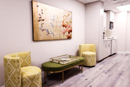 Headache Center of Hope Wellness Center Seating