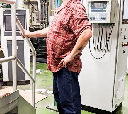 Tony Slade  at General Films Hawaiian Shirt Friday