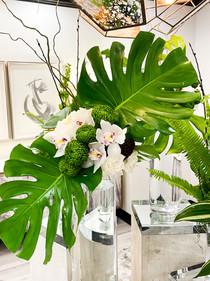 Headache Center of Hope Atrium with Floral Arrangement #2
