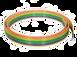Bimba Multi-Color Ribbon Polyurethane Tu
