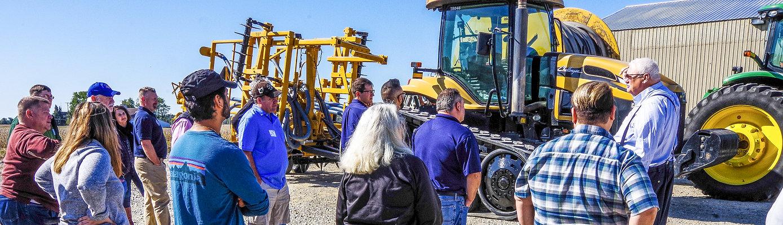 Rick Kremer During the ShurGreen Farms