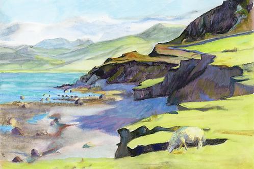Tonfanau Cliffs near Tywyn