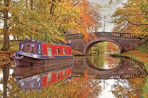 Lancaster Canal by Ellel Grange