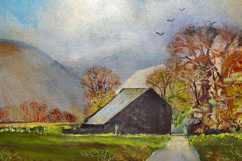 Old Barn near Cadair Idris