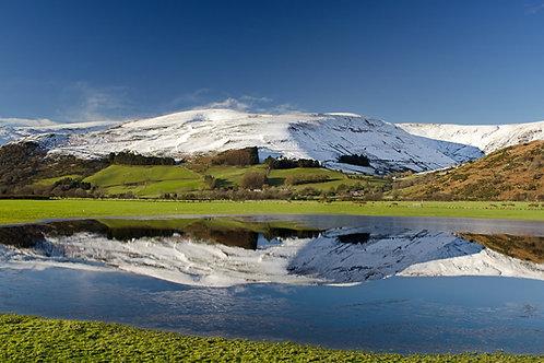 Winter Scenery near Castell y Bere