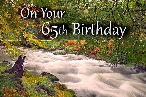 65th Birthday, Mary Jones Cottage