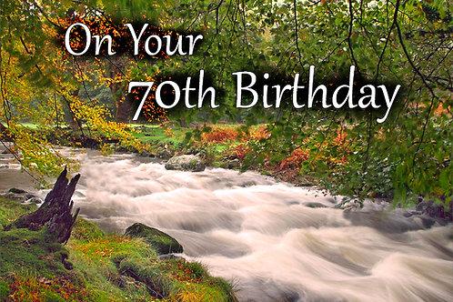 70th Birthday, Mary Jones Cottage
