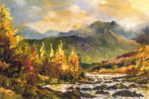 Autumn around Cadair Idris