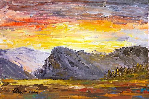 Dramatic Sunrise, Bird Rock