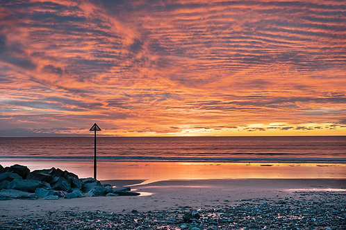 Tywyn Beach Sunset
