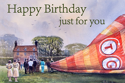 Surprise Landing Birthday