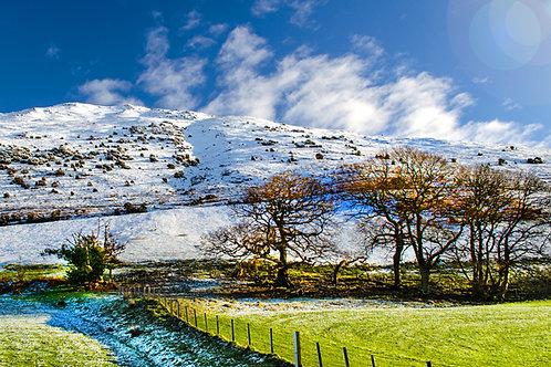 Winter Scenery near Bird Rock