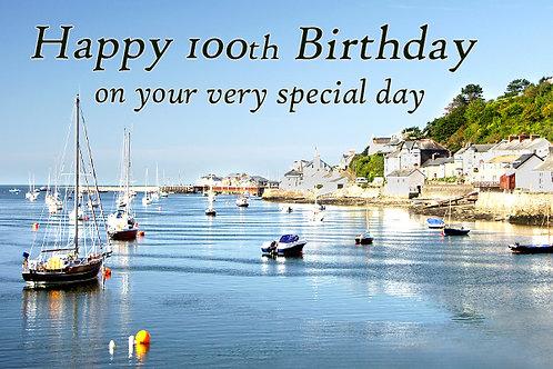 100th Birthday, Bright Day, Aberdyfi
