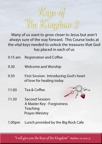 Page 2 and 3 Keys to the Kingdom OCTOBER