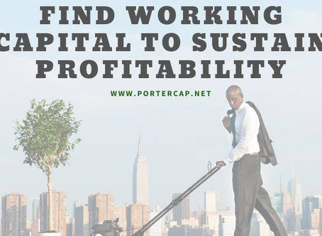 Factoring Provides Working Capital To Sustain Profitability