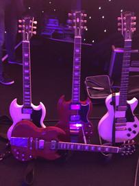 Nick Robinson Guitarist Gibson SGs