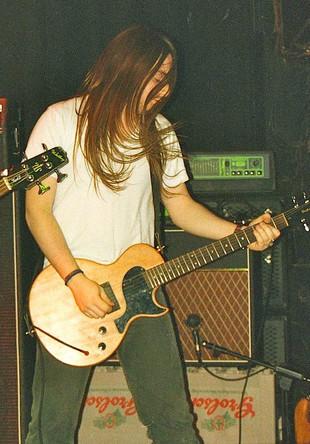 Nick Robsinson Guitarist Stonebird 1990s Marquee