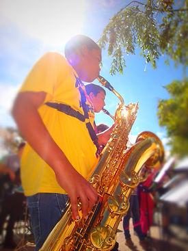 Morpeth School Music Department Hay Festival Sax