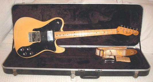 Nick Robinson Guitarist Fender Telecaster 1976 Custom