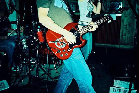 Nick Robinson Guitarist Gibson SG Custom Shop Bigsby.jpg