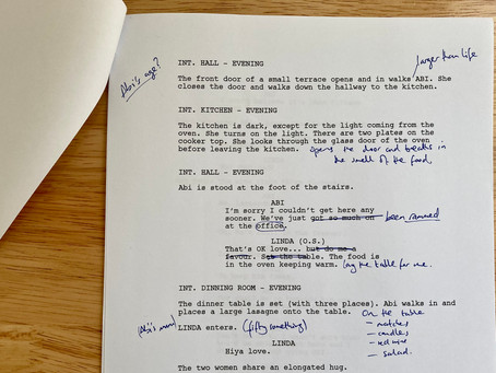 How to write a short film - Editing your scripts