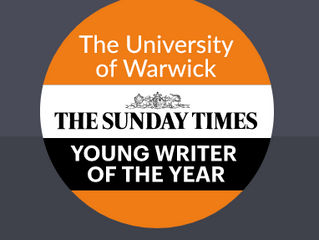The Sunday Times Young Writer of the Year Award, 2020