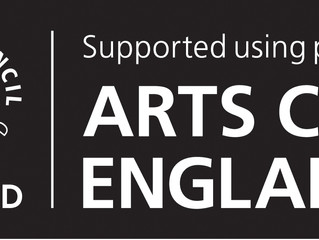 Seán receives Arts Council England Grant for the Arts